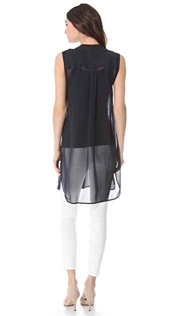 Vince Sleeveless Mini Dress