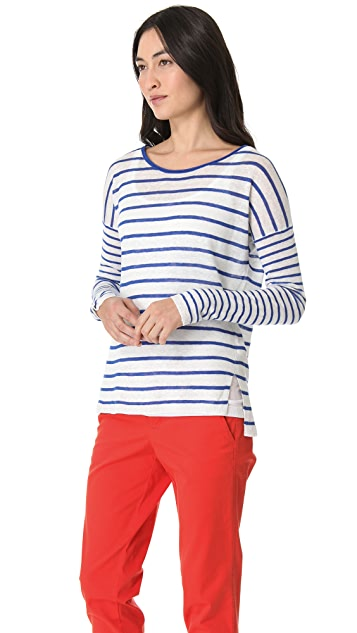 Vince Mixed Stripe Pullover