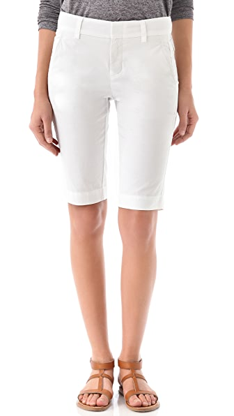 Vince Buckle Bermuda Shorts