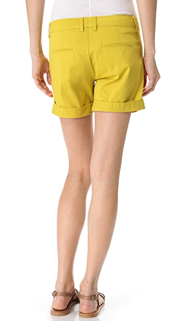 Vince Rolled Boyfriend Shorts