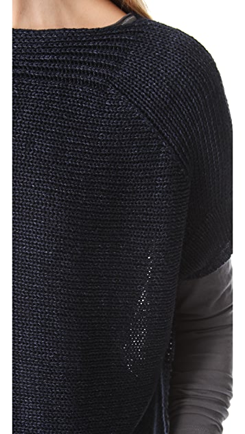 Vince Short Sleeve Sweater