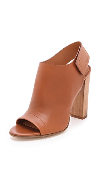 Vince Astrid Open Toe Booties