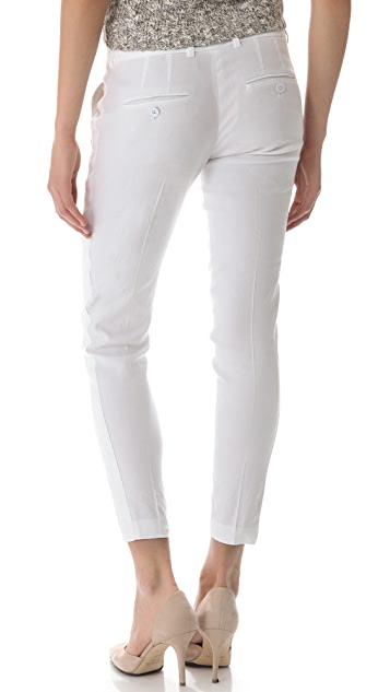 Vince Solid Strapping Linen Pants