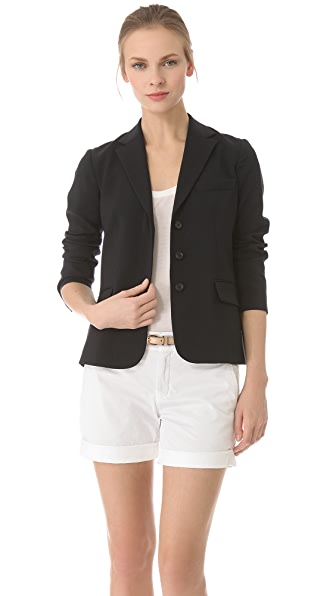 Vince Covered Placket Blazer