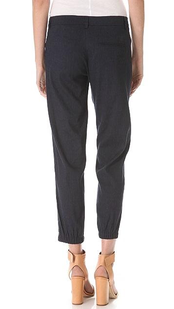 Vince Pleated Linen Pants