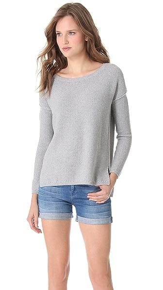 Vince Seed Stitch Crew Sweater