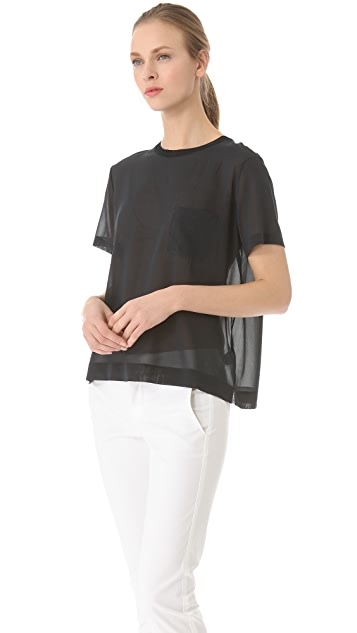 Vince Sheer Pocket Tee