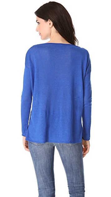 Vince Boat Neck Sweater