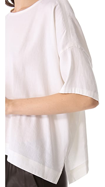 Vince Square Linen Top