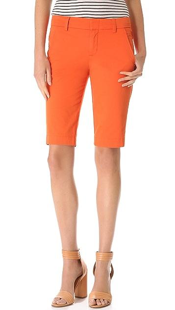 Vince Side Buckle Bermuda Shorts