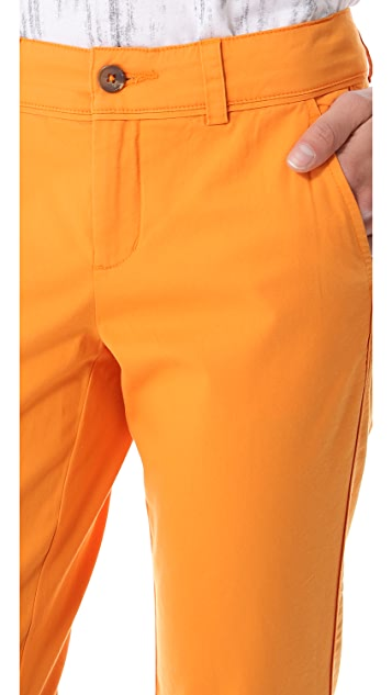 Vince Boyfriend Piped Seam Trousers