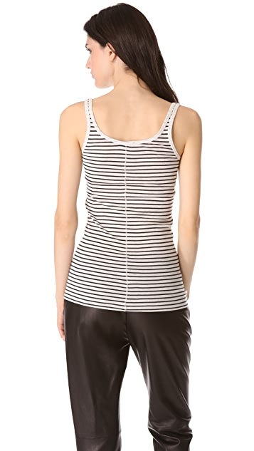 Vince Striped Favorite Tank