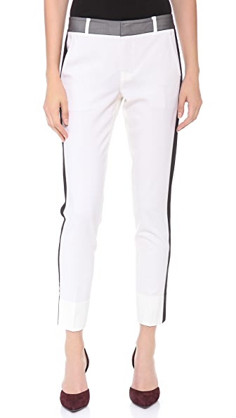 Vince Organza Strapping Trousers