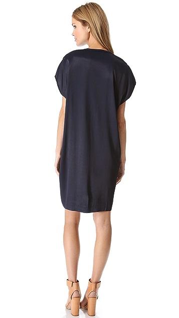 Vince Split Neck Dress