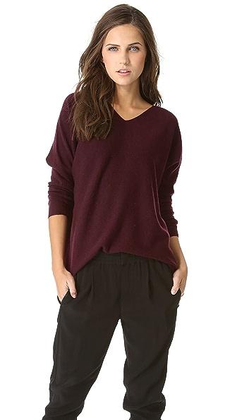 Vince Hi Low Cashmere Sweater