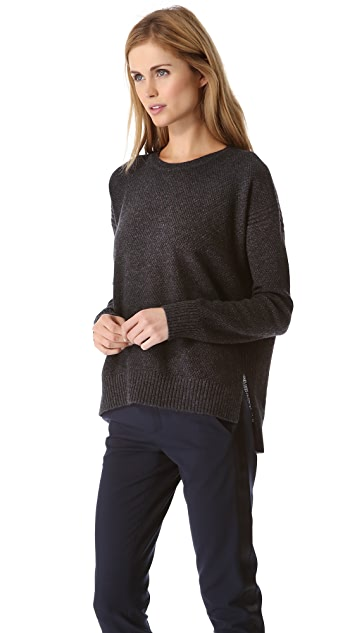 Vince Split Side Thermal Sweater
