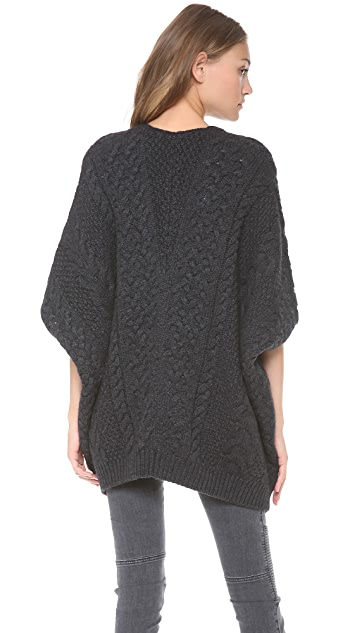 Vince Cable Knit Poncho