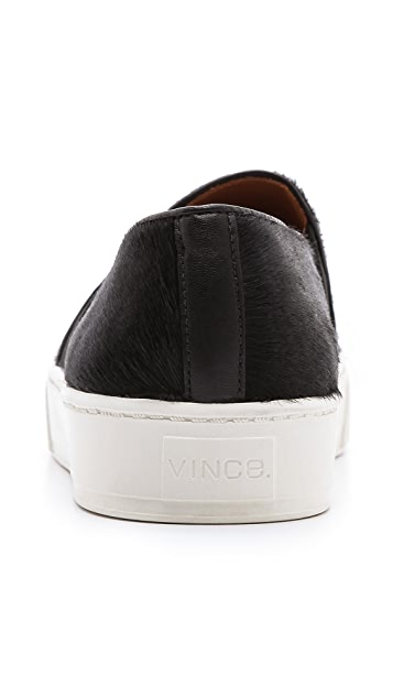 Vince Blair Haircalf Slip On Sneakers