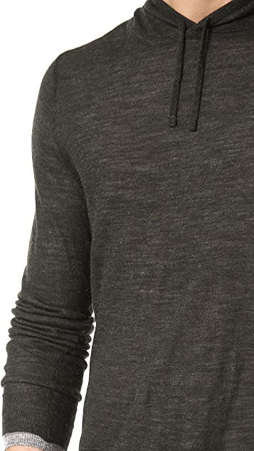 Vince Double Layered Hoodie