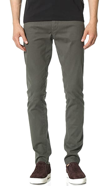 Vince Stretch Twill 5 Pocket Jeans