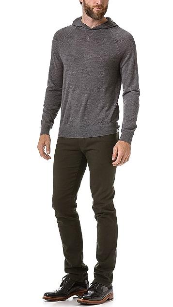 Vince Lightweight Hooded Sweater