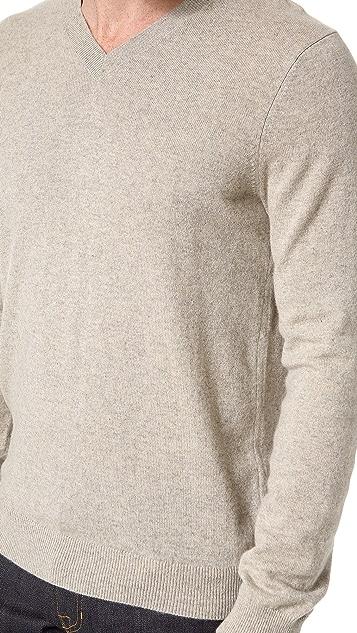 Vince Cashmere V Neck Sweater