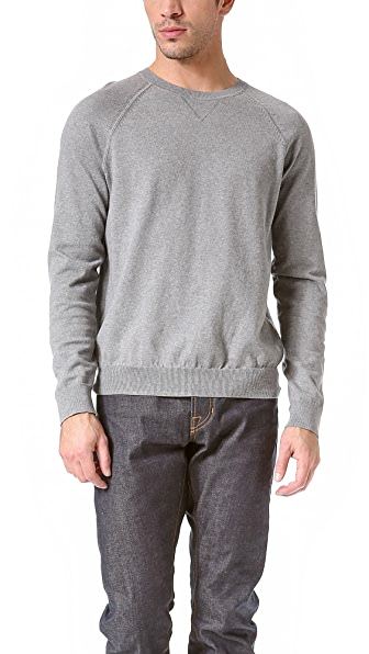 Vince Italian Cotton Crew Neck Sweater