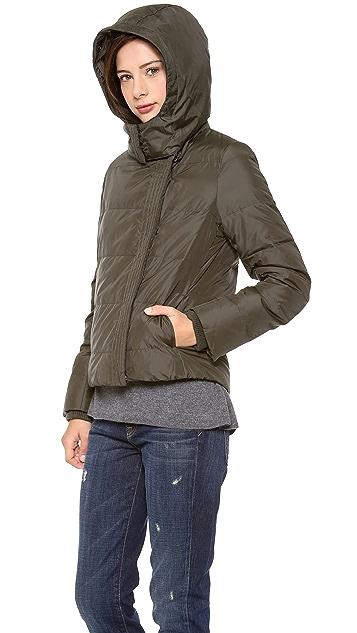 Vince Fur Trimmed Puffer Coat