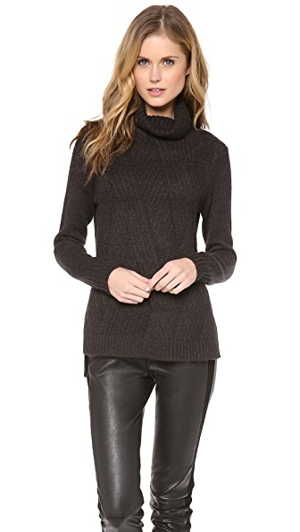 Vince Travelling Rib Turtleneck