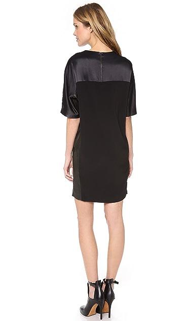 Vince Texture Block Dress