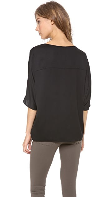 Vince Sculptured Blouse