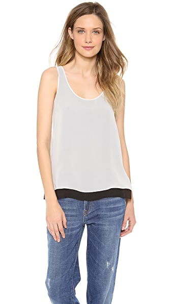 Vince Double Layer Tank Top