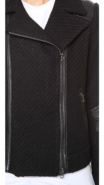 Vince Tweed Moto Jacket