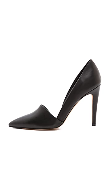 Vince Anya Asymmetrical Pumps