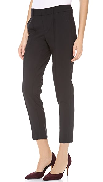 Vince Pintuck Tapered Trousers