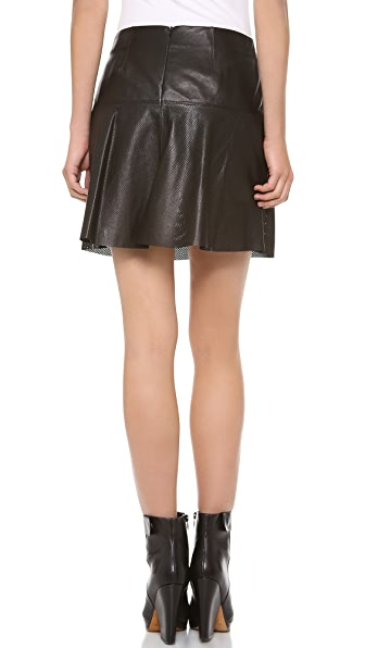 72365767e7 Vince Perforated Leather Skirt | SHOPBOP