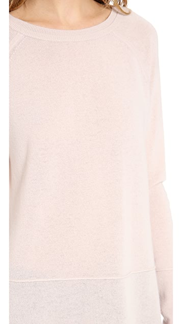 Vince Luxe Cashmere Sweatshirt