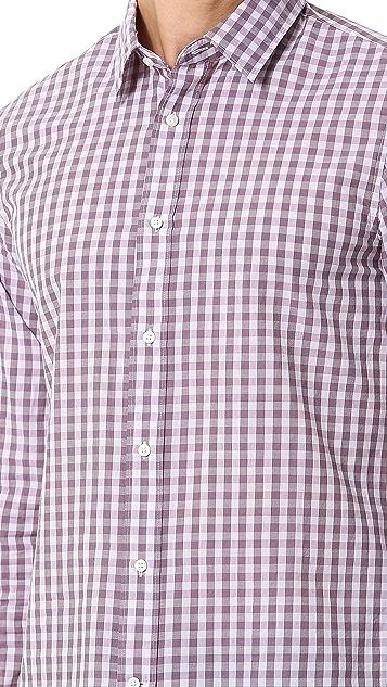 Vince Gingham Sport Shirt