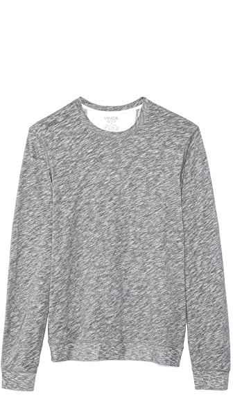 Vince Long Sleeve Jersey Sweatshirt