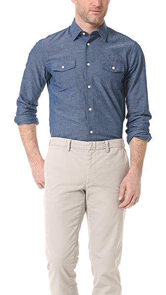 Vince Chambray Sport Shirt