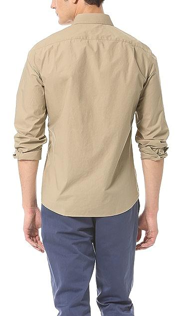Vince Parachute Sport Shirt