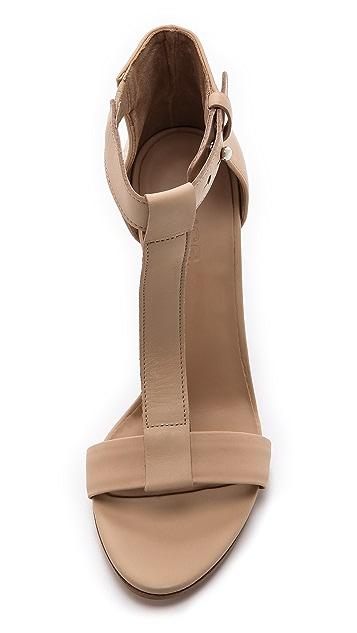 Vince Nolan T Strap Sandals