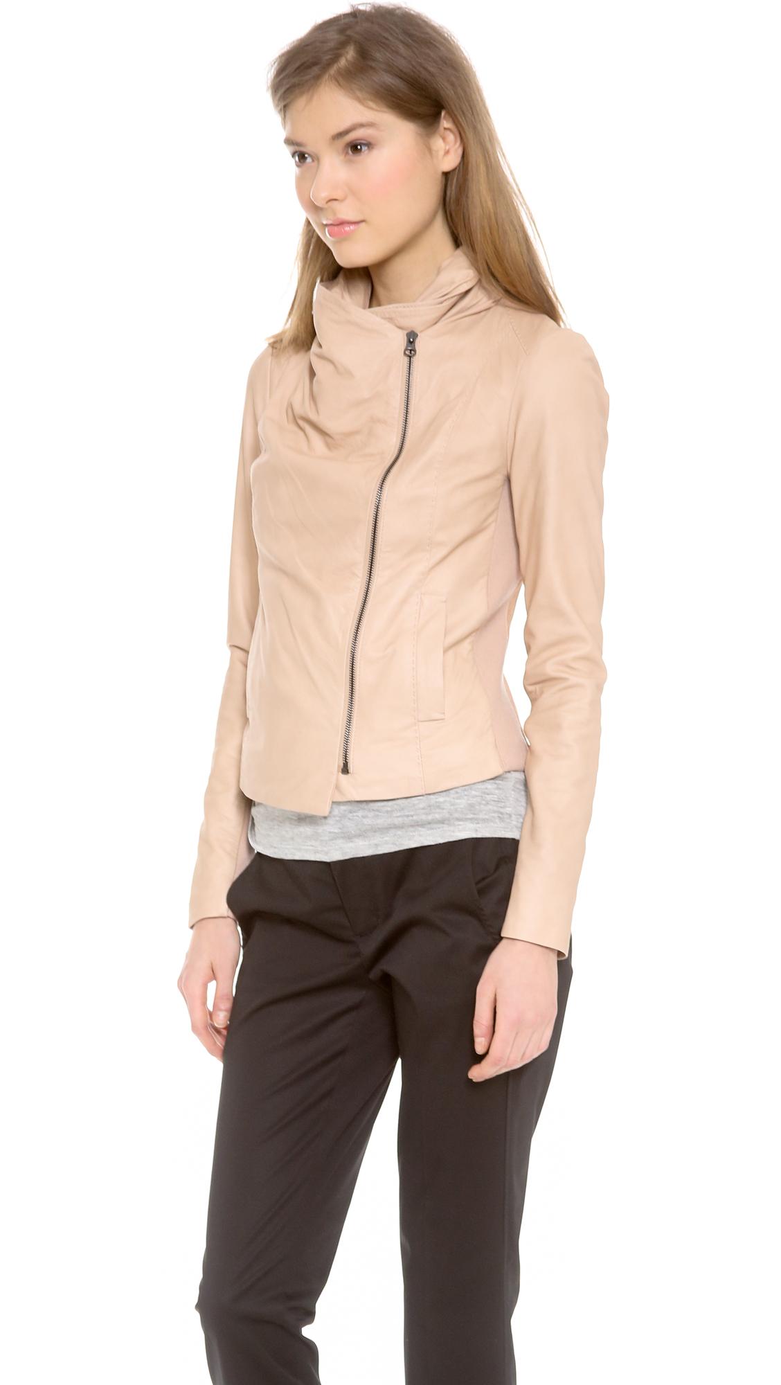 72c33dc62 Vince Scuba Leather Jacket | SHOPBOP