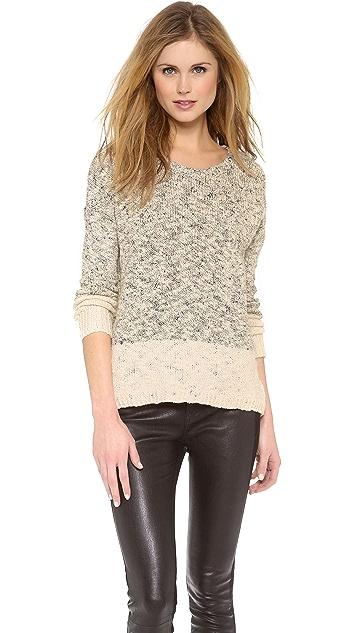 Vince Marl Colorblock Sweater
