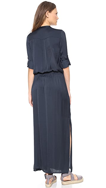 Vince Maxi Shirtdress
