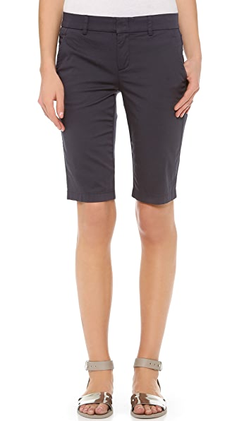 Vince Side Buckle Bermuda Shorts