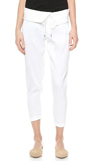 Vince Folded Waist Trousers