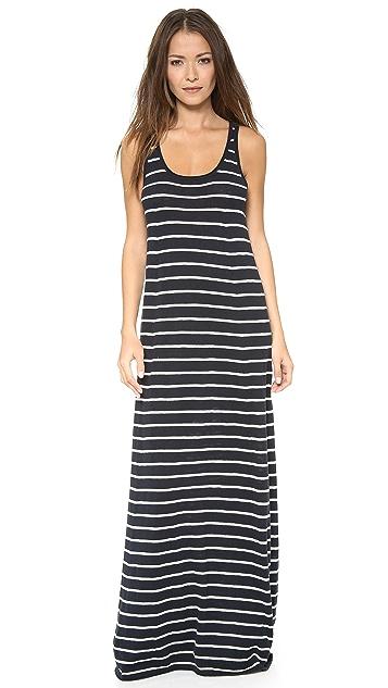 Vince Striped Maxi Dress