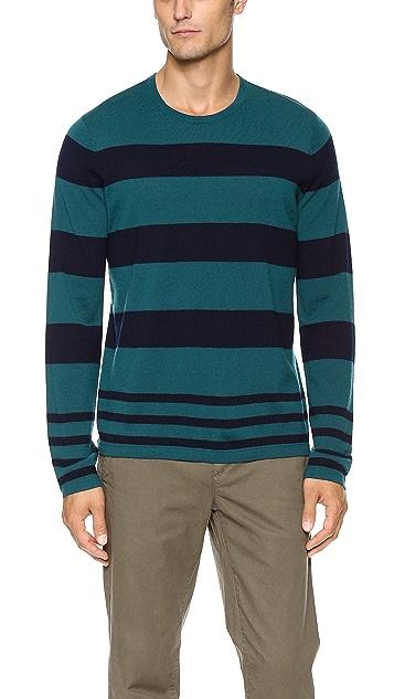 Vince Multi-Stripe Sweater