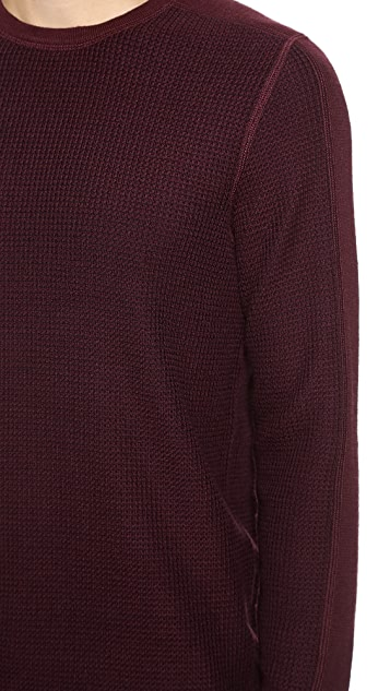 Vince Long Sleeve Thermal Pullover